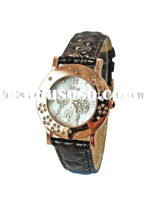 high quality fashion crystal women watches top brand 2011