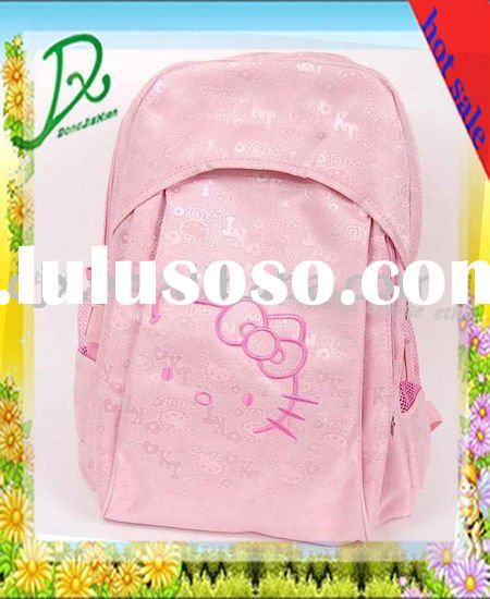 high quality hello kitty school bag