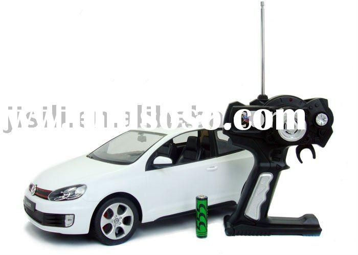 high quality license 1:12 scale 3ch rc car model white color