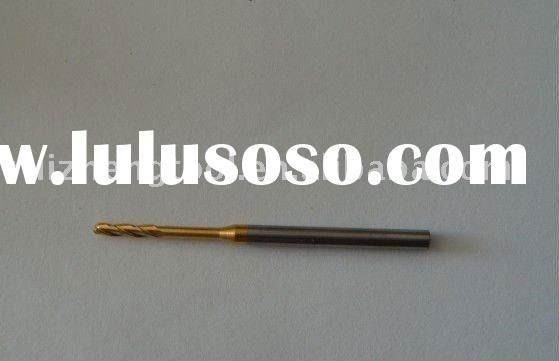 high quality long life micro grain carbide ball nose end mills