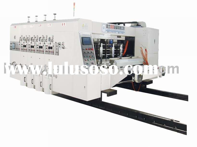 high speed printing slotting die-cutter /printing machine /package machine/carton machine