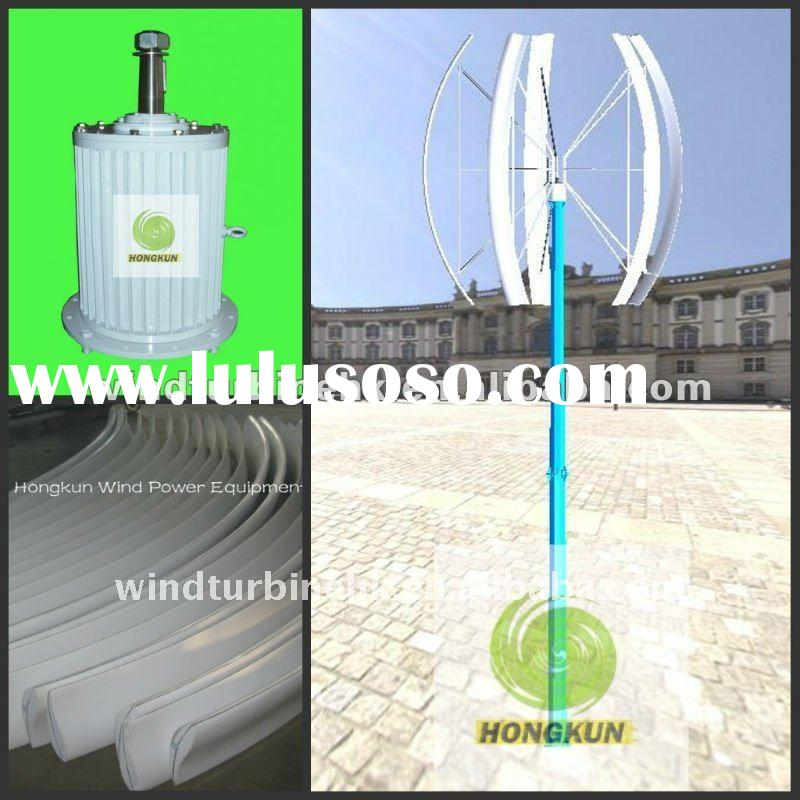 home vertical axis wind power mill