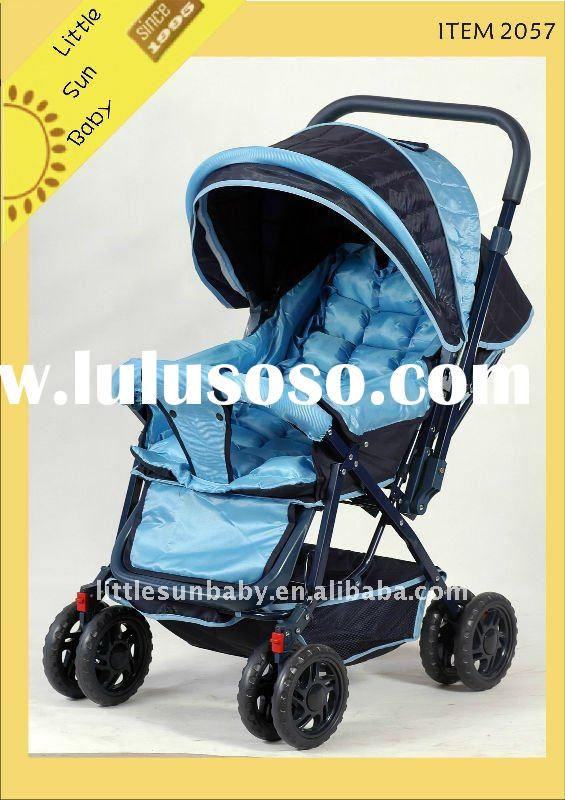 hot sale and reversible baby stroller with car seat 2057