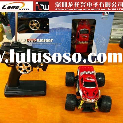 hot sale! high quality iw05 4wd bigfoot RTR remote control car manufacturer