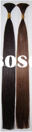 human hair bulk hair extension