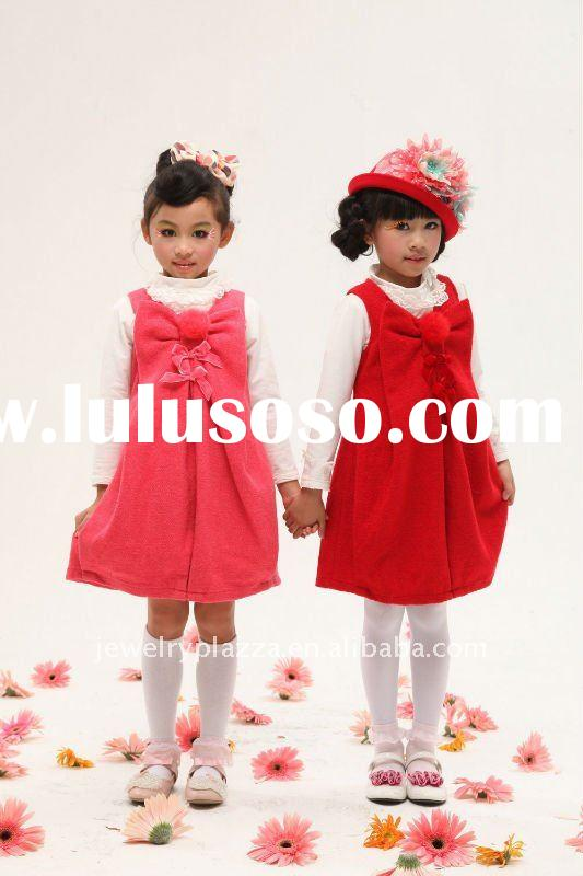 kids dress 2011 winter fashion dresses for girls