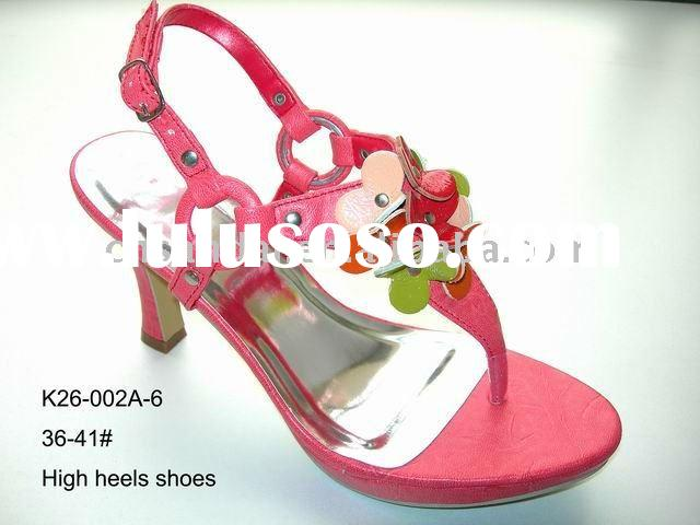 ladies fashion high heel sandal 2011