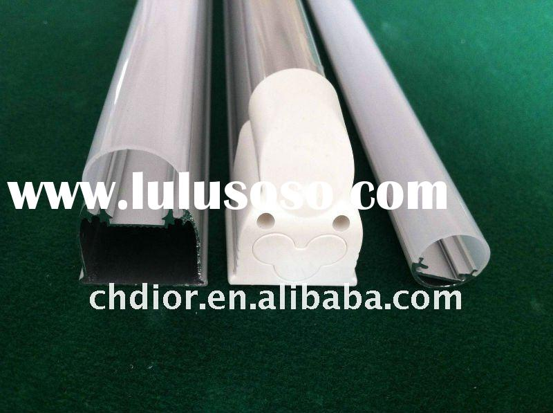 manufacturer of T5 LED Gleichschaltung components,with 2/3PC tubu,1/3 AL alloy,end cap of all parts