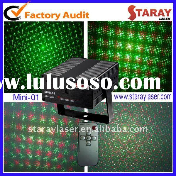 mini green+red Laser light show special effects stage projector
