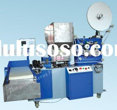 new hot Full-automatic plastic straw single packing machine with paper or bopp film