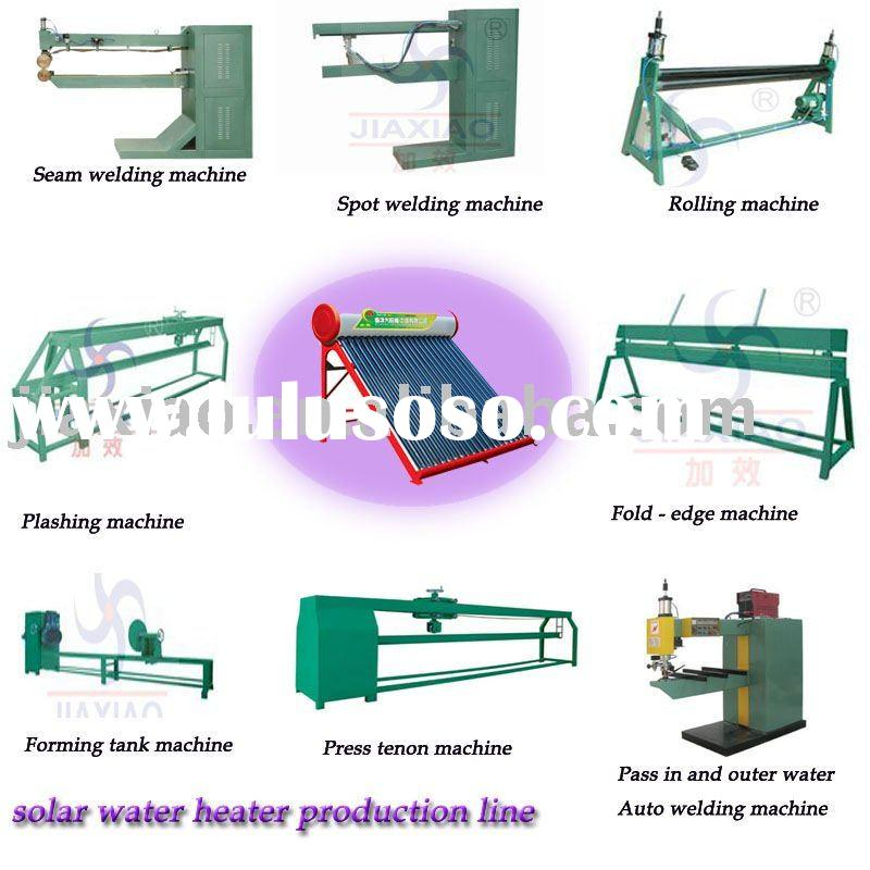 non-pressure pressured solar water heater production line