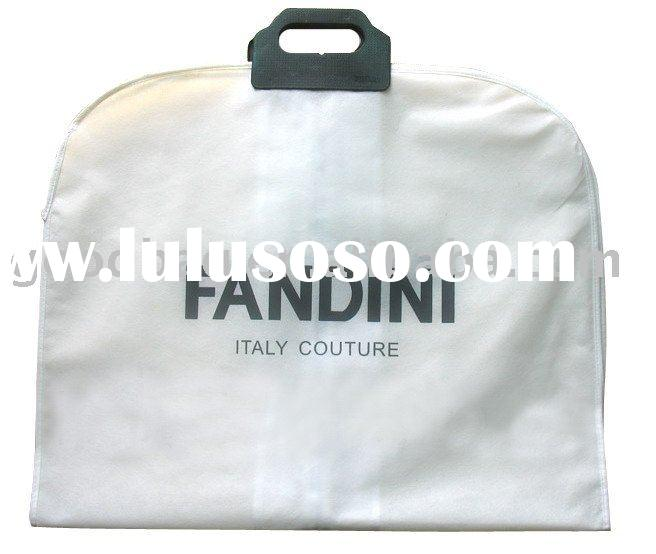 non woven Suit Bags with zipper