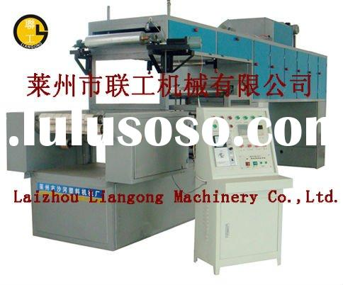 plastic adhesive tape coating machine