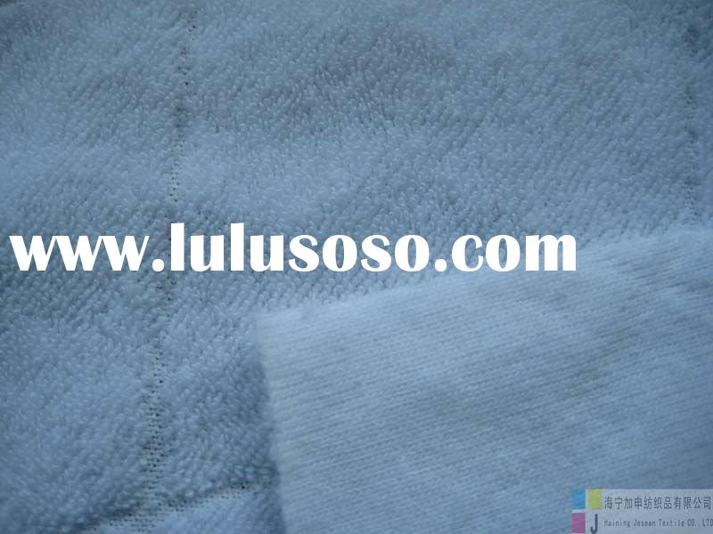 polyester/cotton printed microfiber knitted terry fabric