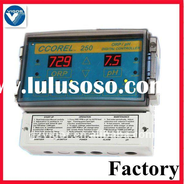 pool controller for swimming pool water quality controll system