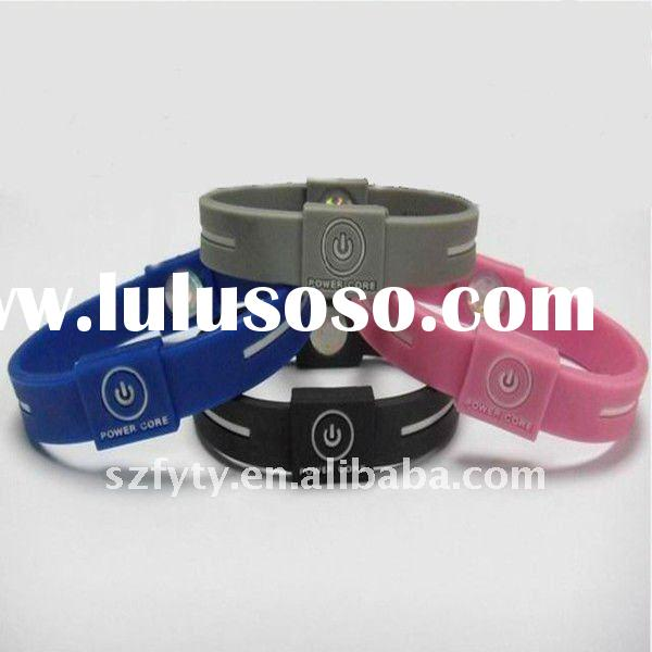 power band fashion silicone bracelet energy balance