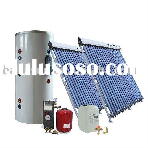 professional separated pressurized freestanding 500L solar water heater