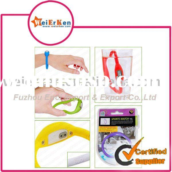 promotional silicone wristband watch