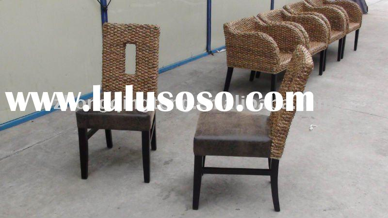 rattan restaurant dining chair