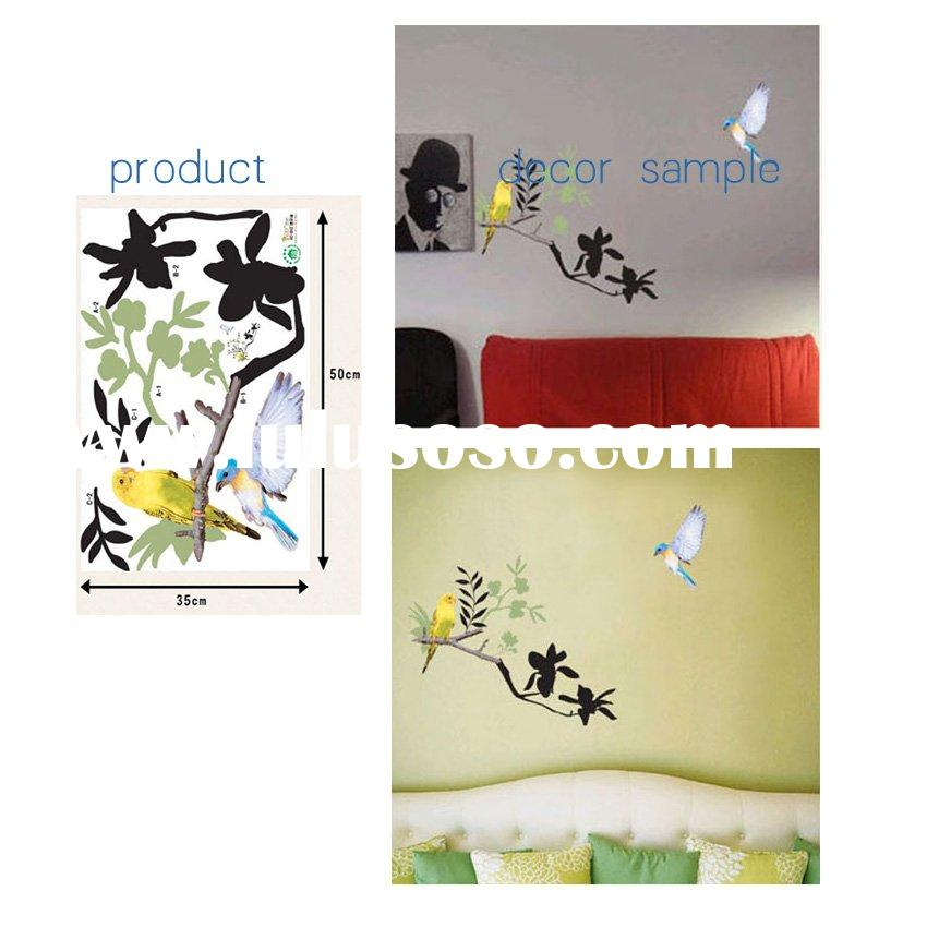 removable PVC and self adhesive vinyl wall sticker