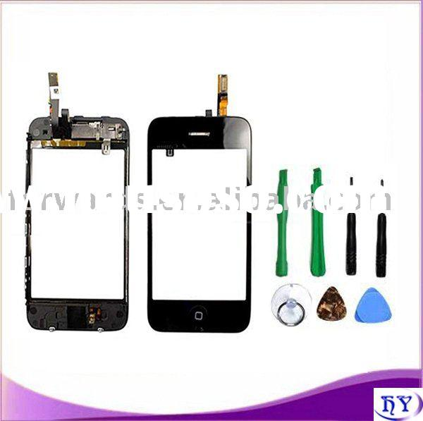 repair parts touch screen digitizer bezel assembly for iphone 3g
