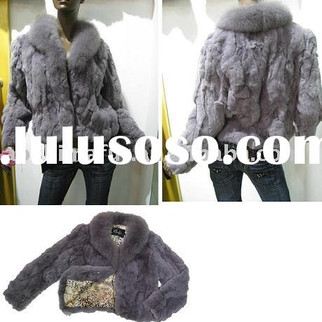 rex rabbit fur coat, rabbit fur garment,