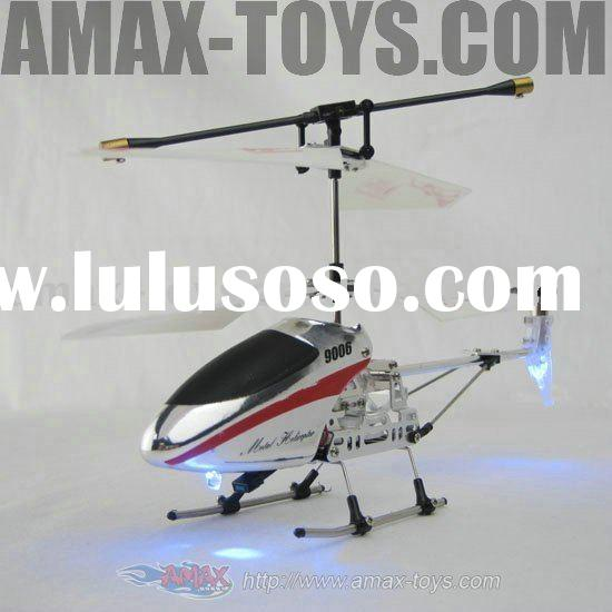 rh-qs9006-2 Mini 3CH RC Gyro helicopter radio control with Unique Alloy Head Cover with DIY Fun 3ch