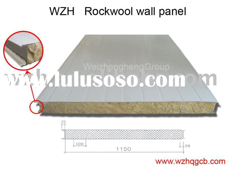 rockwool sandwich panel for roof & wall
