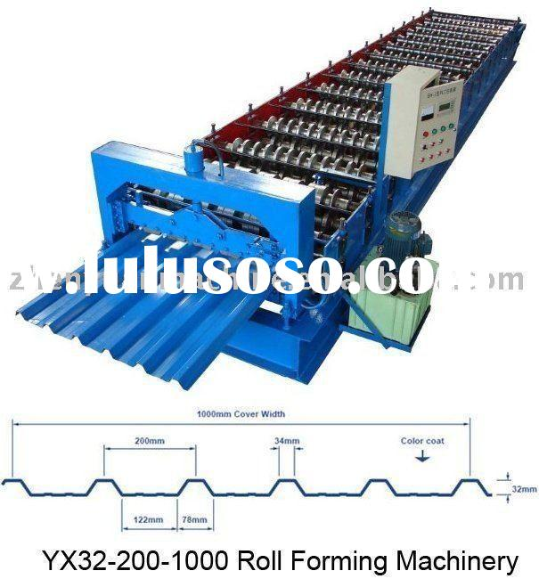 roll forming machine,roof panel forming machine,zinc steel sheet rolling machine