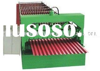 roof steel sheet roll forming machine,steel roof forming machine,corrugated roofing making machine