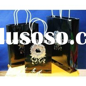 rope handle bags ,gift paper bag, paper shopping bag