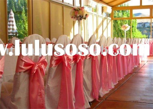 satin chair sashes wedding tie back for chair cover