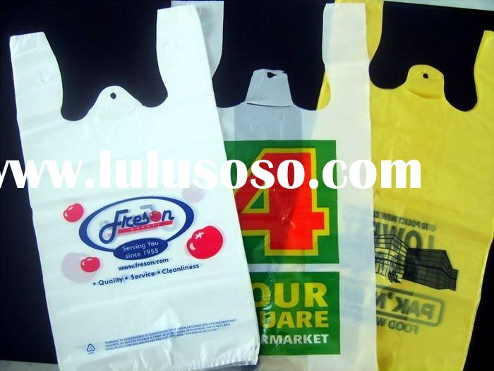shopping plastic T shirt bag