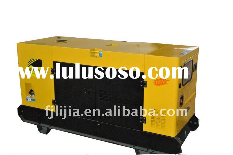 silent soundproof diesel water cooled generator set SAE 3