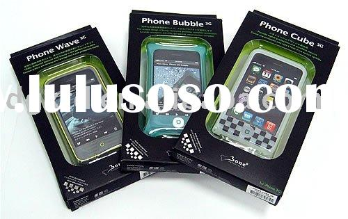 silicone cell phone cover for iphone 3G