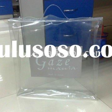 super clear PVC Plastic Bag for bed sheet