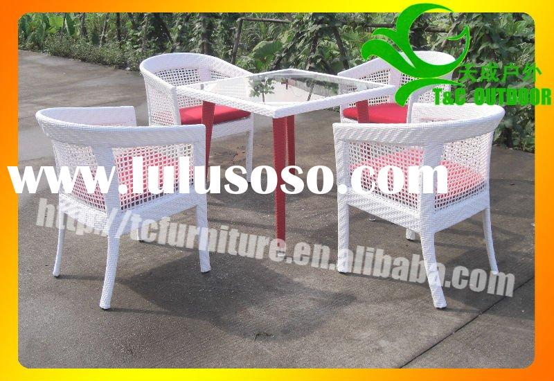 super rattan restaurant chair and table (TC4075)