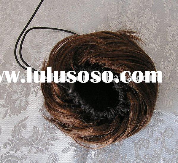 synthetic wigs, fashion hair accessory, bun