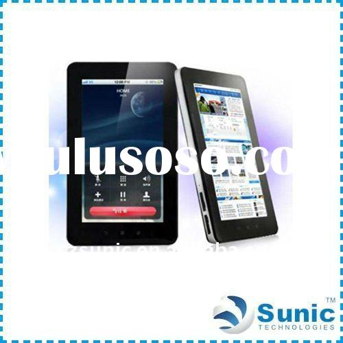 "tablet pc phone, 7"" GPS 3G Bluetooth Qualcomm MSM7227 Tablet PC With Android 2.2 tab tablet pc"