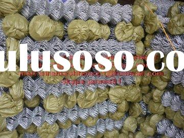 thick wire galvanzied chain link fence for project