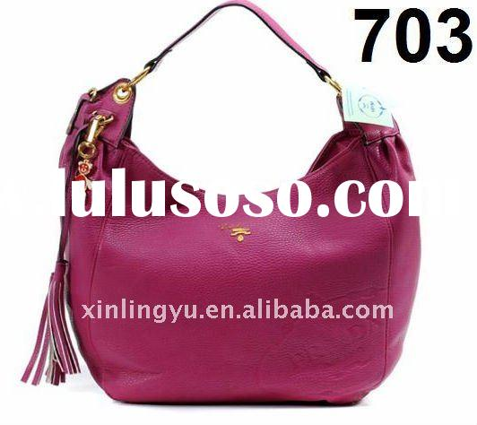 top quality trend famous brand trend fashion women casual leather shoulder bag / handbags, for charm