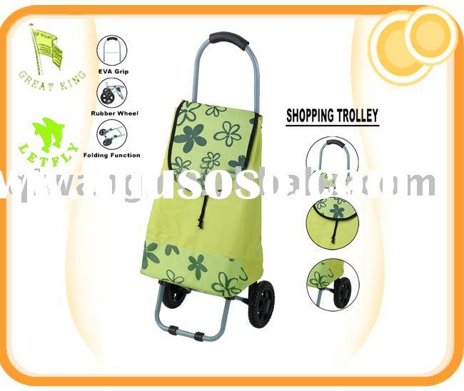 trolley bag, shopping bag, wheel bag,folding bag ,supermarket bag