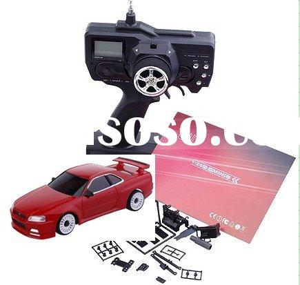 unique toy radio control cars with LED transmitter