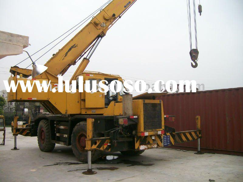 used 30 tons tadano cranes, used Rough Terrain mobile crane (original made-in-Japan)