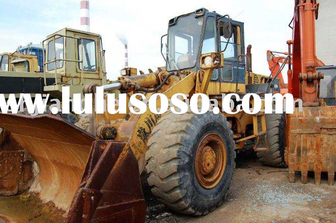 used Komatsu wheel loader WA400 front end loader