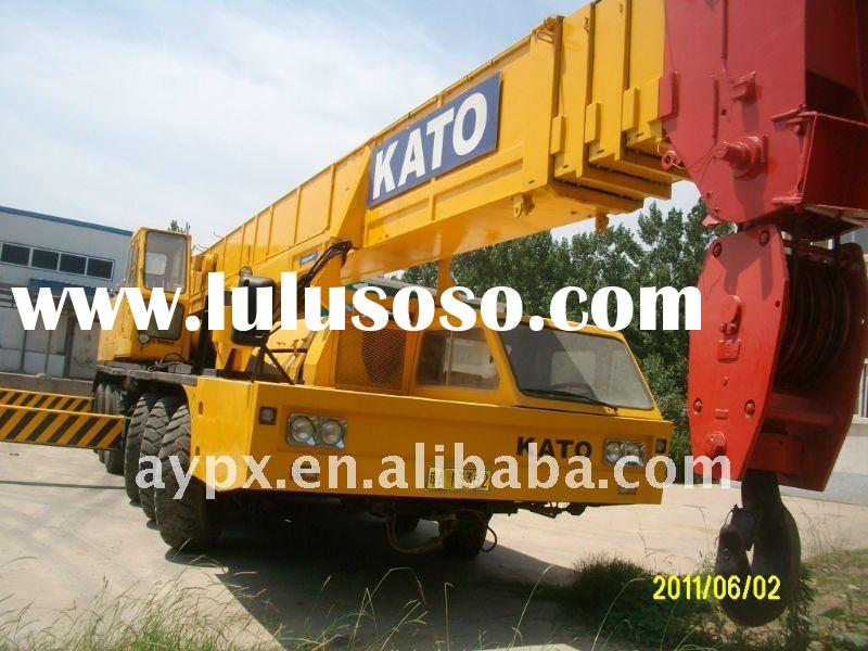 used building machine mobile crane tadano and kato 80t overhead crane
