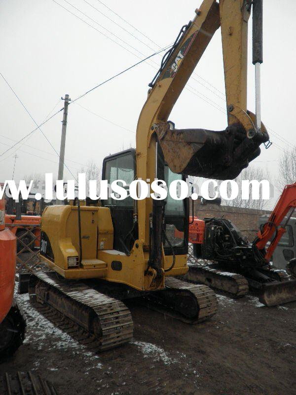 used caterpillar cat307 mini excavator