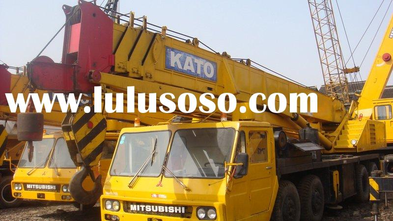used construction machine, kato crane 50t