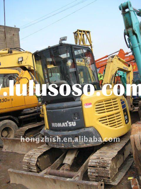 used excavator of the KOMATSU PC50 model for sale