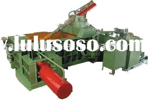 used scrap metal baler